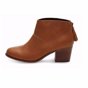 Toms Leila leather booties